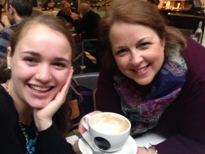 WMS alumna Laurel Brown with Head of School Lisa Lalama in London.