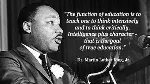 MLK on Education