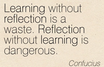 learning without reflection
